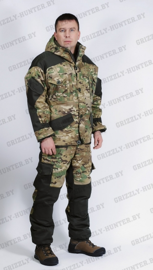 Костюм Горка 5 PREMIUM CANVAS MULTICAM зимний -20 С